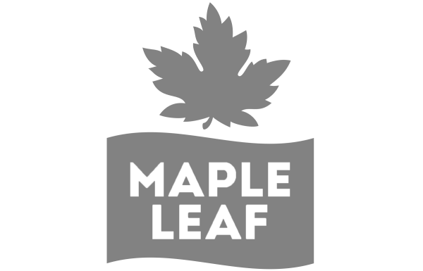 Maple Leaf Foods logo who is a long term client and user of Polaris
