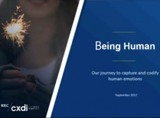 RBC Slide on Being Human for the Fields Institute