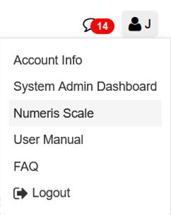 Numeris Scale